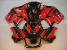 Black  Red Injection ABS Fairings Cowling Bodywork Kit For Honda CBR600F 97 98