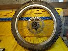 1998 GAS GAS EC250   FRONT WHEEL ASSEMBLY WITH TIRE AND ROTOR