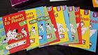 Abeka kindergarten reading and blend books