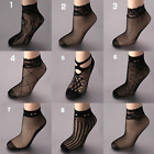 Sexy Sock Women Girls Ladies Soft Lace Short Ankle Socks Fishnet Stocking Slinky
