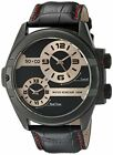 SO&CO New York 5209.2 Men's 'Madison' Quartz Stainless Steel and Leather  Watch