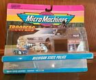 Micro Machines Michigan MI state police troopers collection 2 65400 NIP 1994