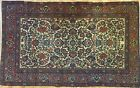 Exceptional Esfahan - 1900s Antique Persian Rug - Ahmad Isfahan - 4.6 x 7.3 ft.