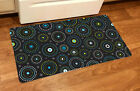NEW Toland Dotty Black 20 x 38 Colorful Circle Design Comfort Mat