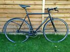 Jamis Beatnik Singlespeed Steel Frame Bike 2012 with mudguards black 55cm