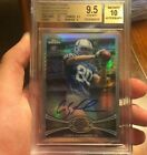 2012 Topps Chrome Colby Fleener Rookie Auto Prism Refractor # 50 BGS 9.5 10