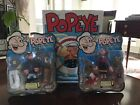 Mezco Popeye the Sailorman Pea Coat Popeye and Olive Oyl and Swee' Pea ++xtras