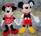 DISNEY Mickey And Minnie Mouse Plush Large 16 NWT 2016 Exclusive NEW