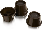 "Furniture Bed Risers Cups Adds 2"" Height Lift Couch Armchairs Desk Sofa Set of 4"