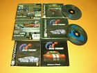 Jet Moto 2 II & Gran Turismo CIB Complete in GREAT COND for Playstation PS1!
