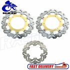 Wave Set Front Rear Brake Disc Rotor Yamaha YZF R6 1999 - 2002 YZF R1 2002 2003