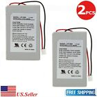 2Pcs New 3.7v 1800mAh Replacement Battery For Sony Playstation 3 Controller