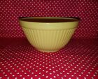Rare Vintage Anchor Hocking Fire King Yellow Ribbed Bowl