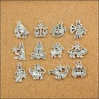 Alloy Mixed Zodiac For Jewelry Making Charm Pendant Accessories Dangle Beads