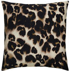 Bloomsbury Market Purti Cheetah Watercolor Throw Pillow