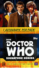 DOCTOR WHO SIGNATURE SERIES TRADING CARDS HOBBY SEALED BOX NEW