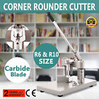 New Style All Metal Heavy Duty Corner Rounder Punch Cutter+2 Blades R6
