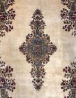 Perfect Persian - 1930s Antique Kerman Rug - Traditional Carpet - 8.9 x 12.7 ft
