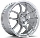 18 Silver Machine Wheel Fits FORD HONDA SUBARU TOYOTA CHEVROLET QTY 4