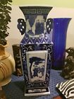 Fine Chinese Blue and White Vase Figure