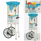 Vintage Snow Cone Maker Machine Cart 48 Inch Deluxe Shaving Commercial Stand New