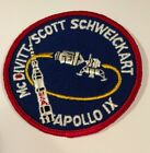 VINTAGE RARE APOLLO 9 IX LION BROTHERS MISSION PATCH 3 1 2 INCHES NASA