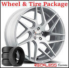 22 BLAQUE DIAMOND BD3 CONCAVE SILVER WHEELS AND TIRES FITS BENTLEY CONTINENTAL