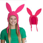 US STOCK Family Matching Hat Bobs Burgers Louise Ears Cosplay Pink hat Licensed