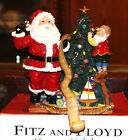 AWESOME FITZ AND FLOYD HAPPY HOLIDAYS ESSENTIALS STOCKING HOLDER  BRAND NEW