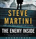 The Enemy Inside CD: A Paul Madriani Novel [Audio CD] [May 12, 2015] Martini, St
