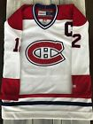 AUTHENTIC HAND GIVEN #12 YVAN COURNOYER WHITE MONTREAL CANADIENS JERSEY