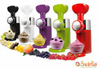 220V Frozen Fruit Dessert Machine Automatic Ice Cream Maker Milkshake Machines