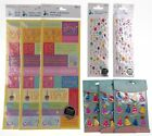 Birthday Party Scrapbooking Stickers 8 Packages Jolees Boutique Momenta 3D Words