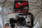 Canon EOS Digital Rebel XSi EOS 450D 122MP Digital SLR Camera Black