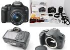 Canon Single Lens Digital Camera EOS Kiss X2 122MP EF S18 55mm F35 56 Set JP