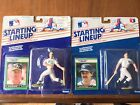 2-1989 Kenner Starting Lineup Mark McGwire Oakland A's Don Mattingly NY Yankees