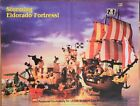 Rare Lego Pirate Lego Builders Club Poster 1989