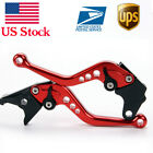 Short Brake Clutch Levers For Honda CBR1000RR/Fireblade (2004-2005-2006-2007)
