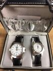 World Poker Tour Official His Hers Watch Quartz Working Set Gift Case New