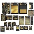 Crafters Companion Sara Signature Collection BLACK  GOLD CardMaking