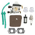 Fuel Line Carburetor Kit For STIHL FS38 FS45 FS55 String Trimmer Weed Eater Part