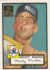 Mickey Mantle 1996 Topps Reprint Card #2 1952 Topps