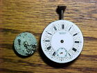 2 Partial C H Meylan Nickel Movements 15.5MM And 29.5MM No Reserve