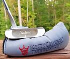 Titleist Scotty Cameron Pro Platinum Del Mar 3 Putter 35 with cover