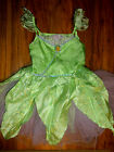 Disney Store TINKERBELL Fairy Costume size 10 Peter Pan