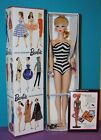 OOAK Giftset Vintage 1st EVER BARBIE Reproduction BLONDE PONYTAIL w BOX Swimsuit