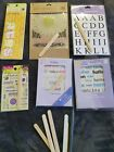 scrapbooking lot assorted rub ons
