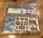 KCompany Air Force Paper Kit Scrapbook Stickers NEW Sealed 670044