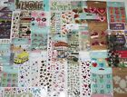 HUGE LOT 40 packages Scrapbooking Stickers EK SuccessStickoMomentaJolees