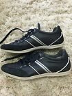 Geox Respira Blue Navy Leather Sneakers Men Size 43 105 Usa